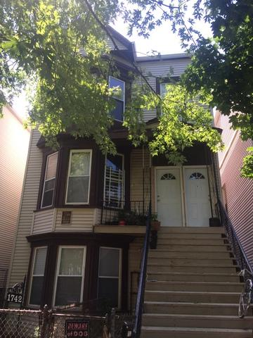1742 N Saint Louis Avenue, Chicago, IL 60647 (MLS #09779936) :: The Perotti Group