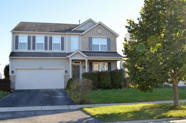 158 E Clover Avenue, Cortland, IL 60112 (MLS #09780103) :: Angie Faron with RE/MAX Ultimate Professionals
