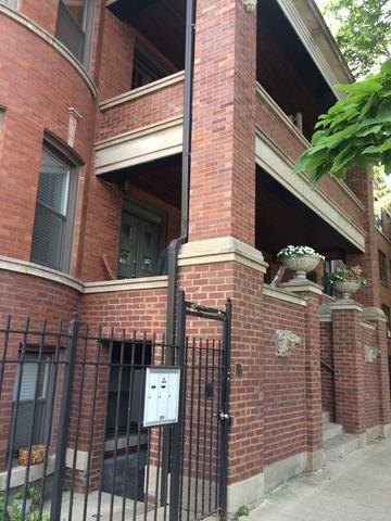 2536 N Sacramento Avenue #2, Chicago, IL 60647 (MLS #09780334) :: The Perotti Group