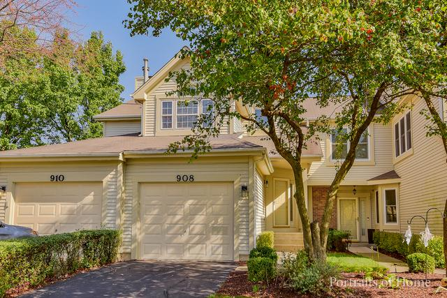 908 Prospect Court #908, Naperville, IL 60540 (MLS #09781263) :: The Wexler Group at Keller Williams Preferred Realty