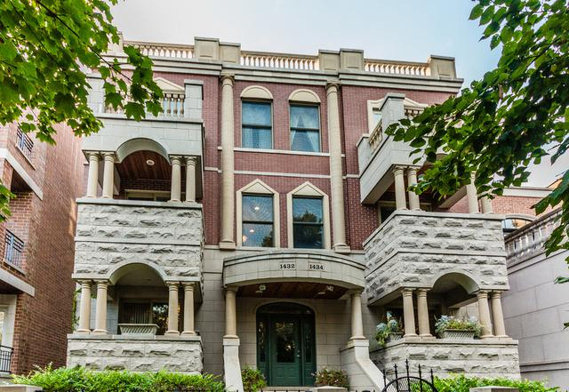 1432 N Cleveland Avenue 2S, Chicago, IL 60610 (MLS #09781460) :: Property Consultants Realty