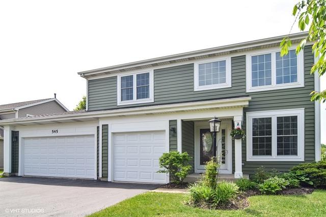 545 E Thornhill Lane, Palatine, IL 60074 (MLS #09797635) :: The Schwabe Group