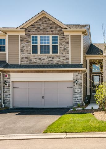 244 Belmont Drive #36, Lincolnshire, IL 60069 (MLS #09800778) :: Helen Oliveri Real Estate