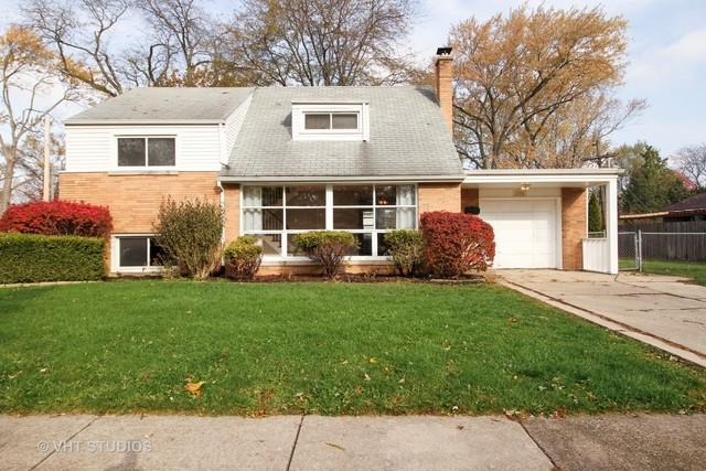2708 Heather Road, Homewood, IL 60430 (MLS #09801023) :: The Wexler Group at Keller Williams Preferred Realty