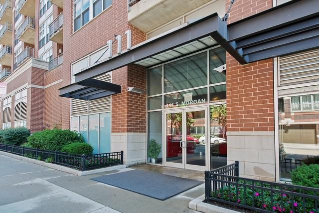 111 S Morgan Street #602, Chicago, IL 60607 (MLS #09802102) :: Property Consultants Realty