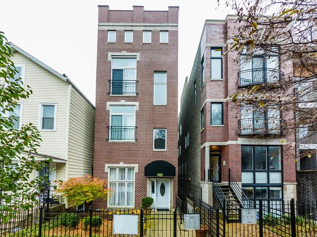 2429 W Walton Street #1, Chicago, IL 60622 (MLS #09802564) :: Property Consultants Realty