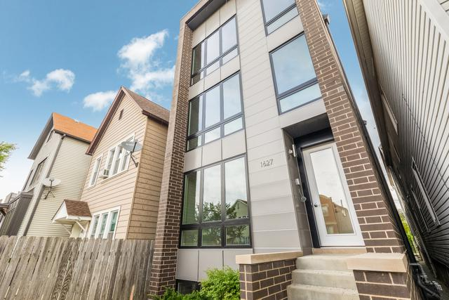 1627 N Campbell Avenue #1, Chicago, IL 60647 (MLS #09802915) :: Property Consultants Realty