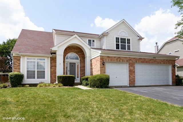 490 Cherry Hill Court, Schaumburg, IL 60193 (MLS #09803253) :: Carrington Real Estate Services