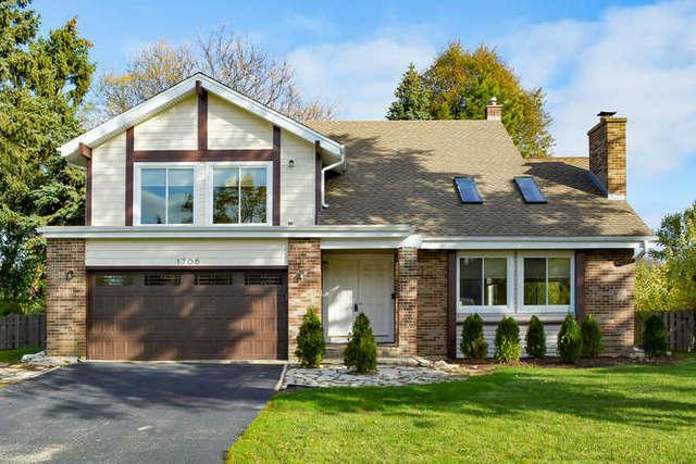 1706 W Shirra Court, Arlington Heights, IL 60004 (MLS #09804549) :: Helen Oliveri Real Estate