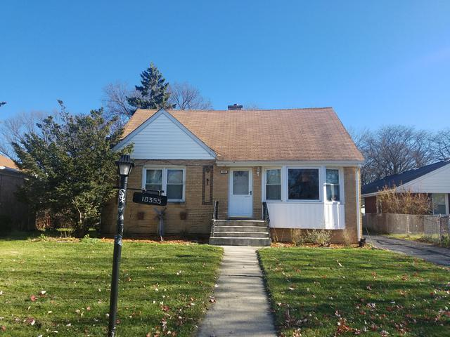 18355 Homewood Avenue, Homewood, IL 60430 (MLS #09811025) :: The Wexler Group at Keller Williams Preferred Realty