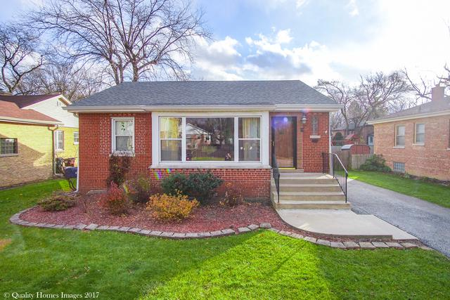 1709 186th Place, Homewood, IL 60430 (MLS #09813233) :: The Wexler Group at Keller Williams Preferred Realty