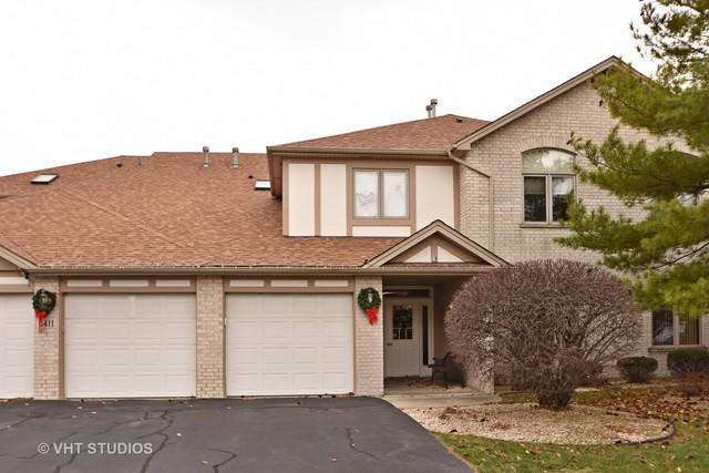6411 Pine Trail Lane #2, Tinley Park, IL 60477 (MLS #09813583) :: The Wexler Group at Keller Williams Preferred Realty