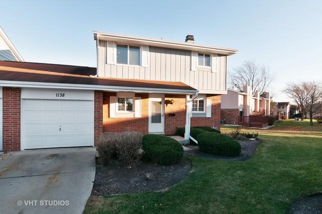 1138 Rhodes Court #1138, Wheaton, IL 60189 (MLS #09814549) :: The Wexler Group at Keller Williams Preferred Realty