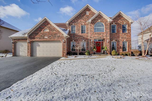 111 Pineridge Drive S, Oswego, IL 60543 (MLS #09817415) :: Lewke Partners