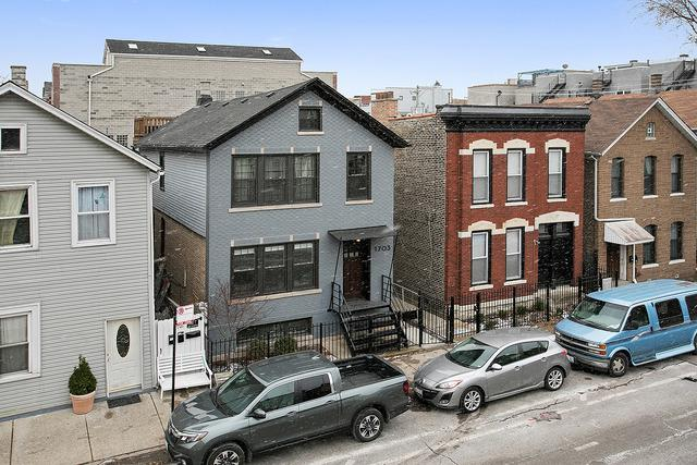 1703 W Augusta Boulevard, Chicago, IL 60622 (MLS #09817968) :: Domain Realty