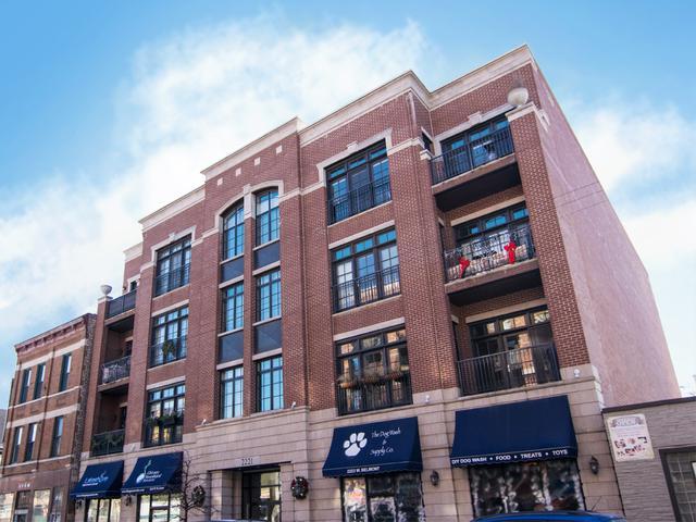 2221 W Belmont Avenue #201, Chicago, IL 60618 (MLS #09829370) :: Domain Realty