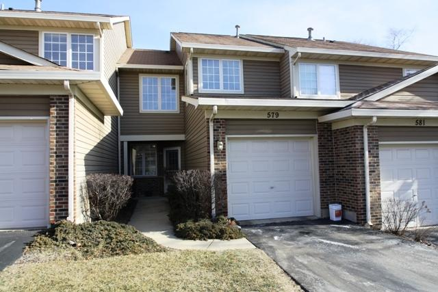 579 W Parkside Drive #579, Palatine, IL 60067 (MLS #09833019) :: The Jacobs Group