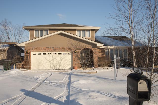 15613 Badger Lane, Homer Glen, IL 60491 (MLS #09835249) :: The Wexler Group at Keller Williams Preferred Realty