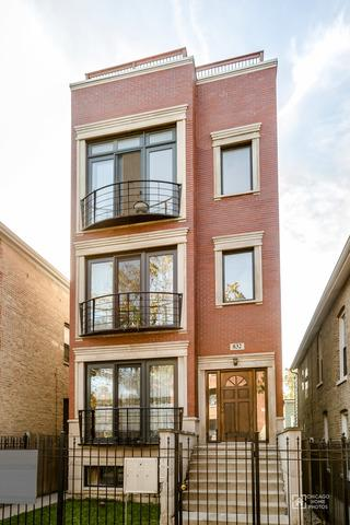 832 N Washtenaw Avenue #3, Chicago, IL 60622 (MLS #09835877) :: The Perotti Group