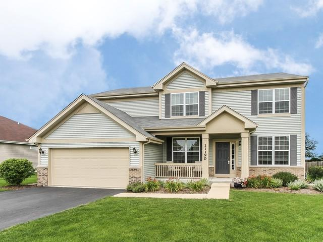 11190 Fitzgerald Lane, Huntley, IL 60142 (MLS #09835935) :: Lewke Partners