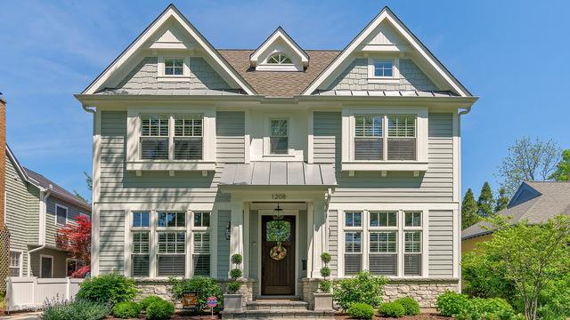1208 Chestnut Street, Western Springs, IL 60558 (MLS #09836673) :: The Wexler Group at Keller Williams Preferred Realty