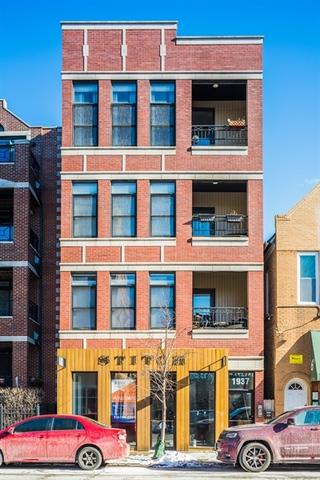 1937 N Damen Avenue #401, Chicago, IL 60647 (MLS #09837216) :: Property Consultants Realty