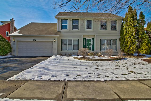 961 Elm Court, Naperville, IL 60540 (MLS #09839026) :: The Wexler Group at Keller Williams Preferred Realty