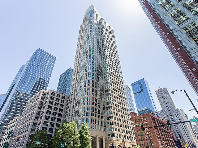 345 N Lasalle Boulevard #3401, Chicago, IL 60654 (MLS #09858556) :: Lewke Partners