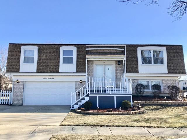 1838 W Willow Lane, Mount Prospect, IL 60056 (MLS #09858563) :: Helen Oliveri Real Estate