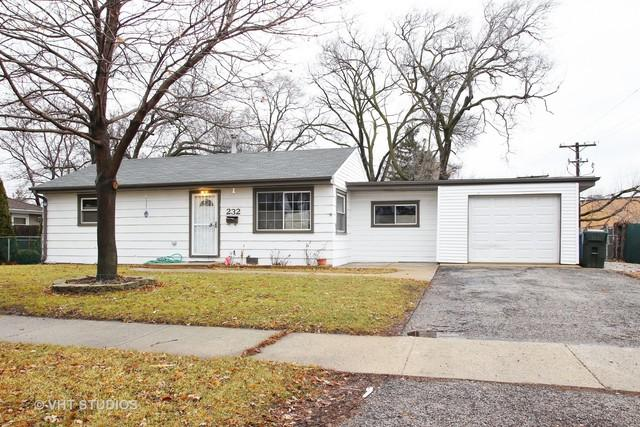 232 W Winthrop Avenue, Addison, IL 60101 (MLS #09860613) :: The Dena Furlow Team - Keller Williams Realty