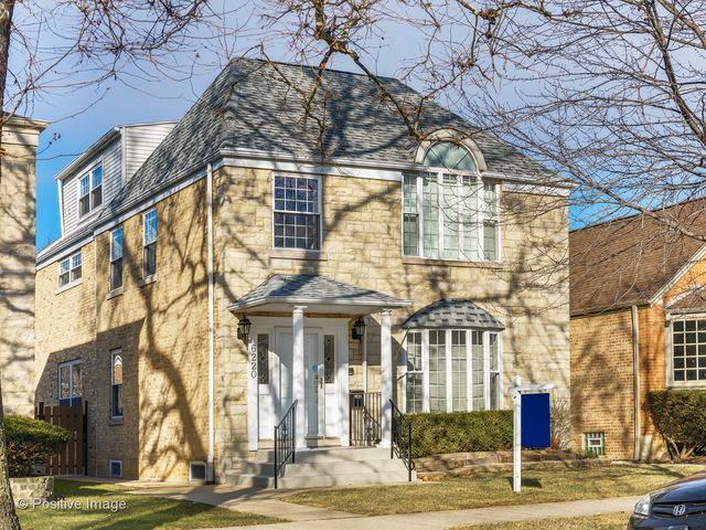 6220 N Leona Avenue, Chicago, IL 60646 (MLS #09861005) :: The Dena Furlow Team - Keller Williams Realty