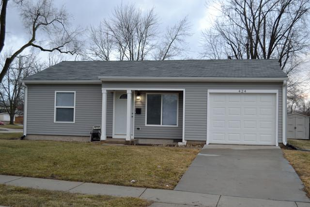 424 Haller Avenue, Romeoville, IL 60446 (MLS #09861752) :: The Wexler Group at Keller Williams Preferred Realty
