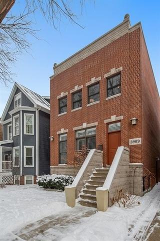 3909 N Leavitt Street, Chicago, IL 60618 (MLS #09863121) :: Domain Realty