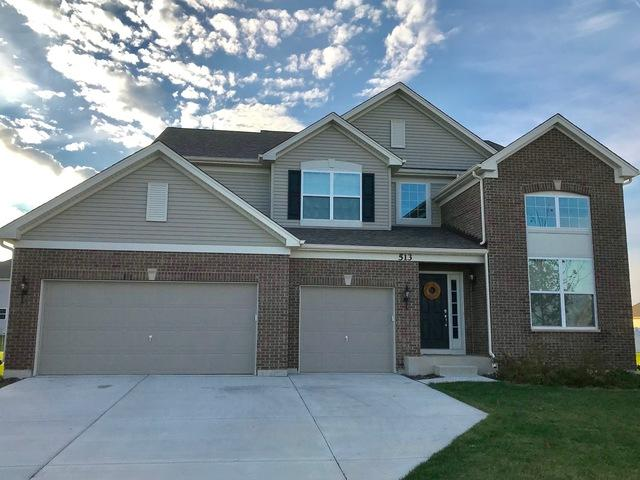 513 Herath Court, Shorewood, IL 60404 (MLS #09863594) :: The Wexler Group at Keller Williams Preferred Realty