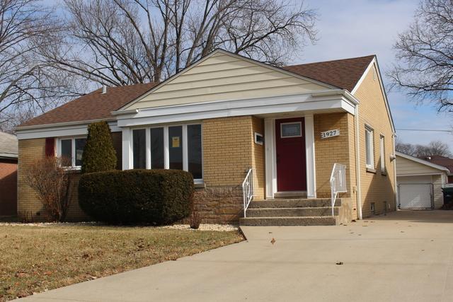 1927 Mayfair Avenue, Westchester, IL 60154 (MLS #09863861) :: Lewke Partners