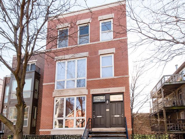 1123 W Chestnut Street 3E, Chicago, IL 60642 (MLS #09865481) :: The Dena Furlow Team - Keller Williams Realty
