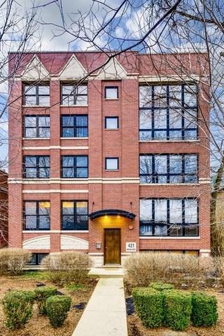 421 S Ridgeland Avenue 2N, Oak Park, IL 60302 (MLS #09865560) :: Lewke Partners