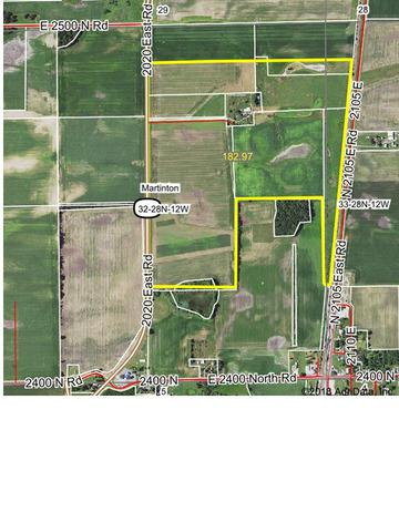 Sec 32, 33 Twp 28N, R12w, Martinton, IL 60951 (MLS #09867256) :: Property Consultants Realty