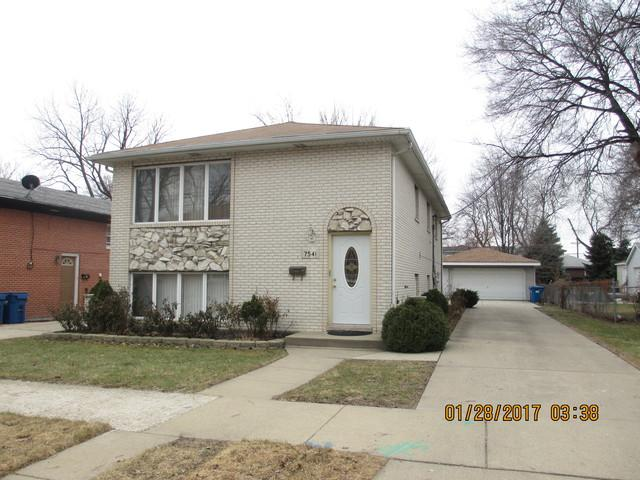 7541 W Hanover Street, Summit, IL 60501 (MLS #09874174) :: The Jacobs Group