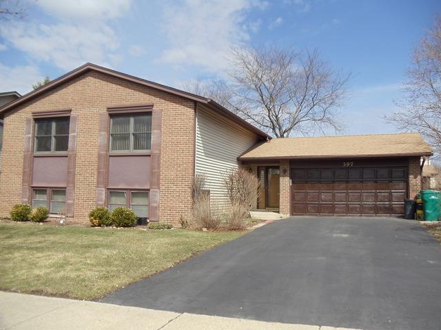 397 Armstrong Drive, Buffalo Grove, IL 60089 (MLS #09877532) :: The Jacobs Group