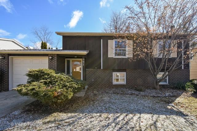 597 Raupp Boulevard, Buffalo Grove, IL 60089 (MLS #09879817) :: The Jacobs Group