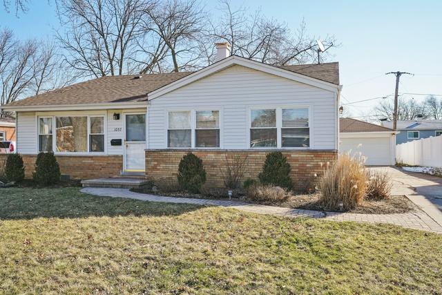 1057 S Norbury Avenue, Lombard, IL 60148 (MLS #09882224) :: The Jacobs Group