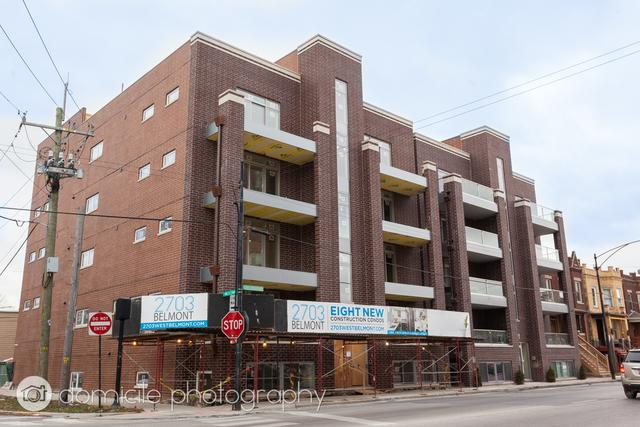2703 W Belmont Avenue 4W, Chicago, IL 60618 (MLS #09882303) :: The Jacobs Group