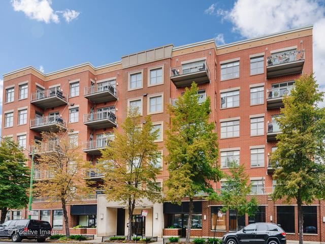 950 W Huron Street #606, Chicago, IL 60642 (MLS #09882804) :: Berkshire Hathaway Koenig Rubloff - Carroll Real Estate Group