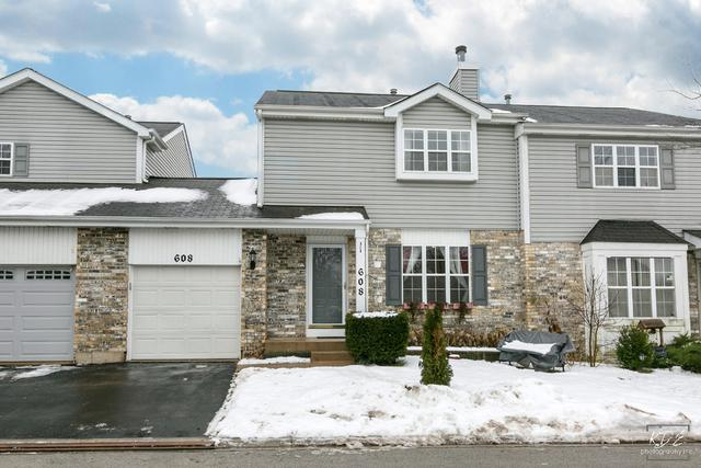 608 Sherwood Court, Romeoville, IL 60446 (MLS #09885660) :: Angie Faron with RE/MAX Ultimate Professionals
