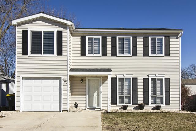 637 Tahoe Court, Carol Stream, IL 60188 (MLS #09886620) :: The Jacobs Group