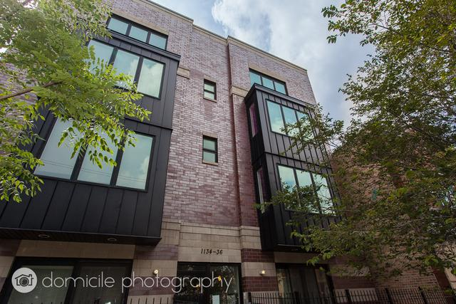1134 N California Avenue #102, Chicago, IL 60622 (MLS #09886868) :: The Jacobs Group
