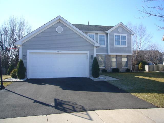 20825 W Barrington Court, Plainfield, IL 60544 (MLS #09887482) :: Domain Realty