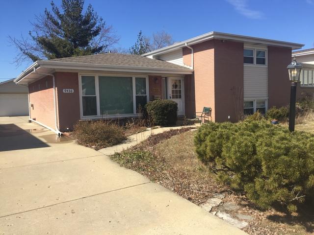 9436 Ozark Avenue, Morton Grove, IL 60053 (MLS #09887686) :: The Jacobs Group