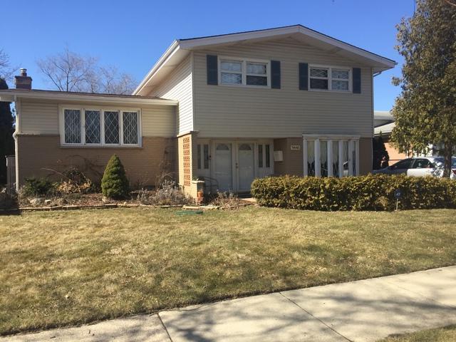 9440 N Ozark Avenue, Morton Grove, IL 60053 (MLS #09887700) :: The Jacobs Group
